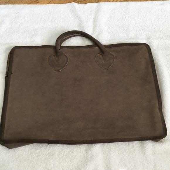 L.L. Bean Handbags - Vintage LL Bean Suede/ Leather Tote